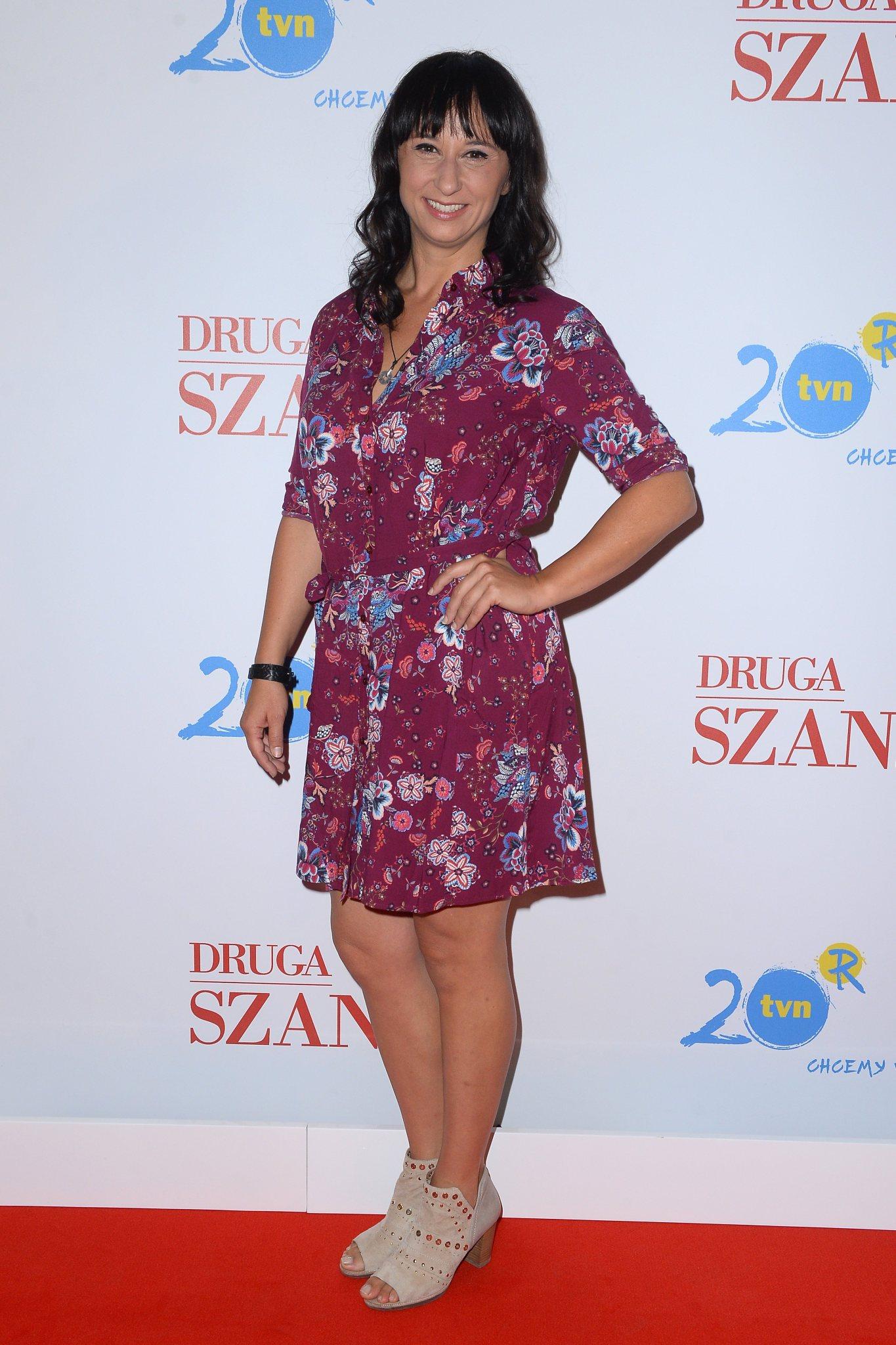 Konferencja prasowa serialu Druga Szansa - Monika Mariotti